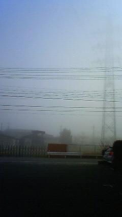 スゴい霧中