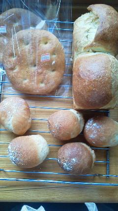 今日もパン