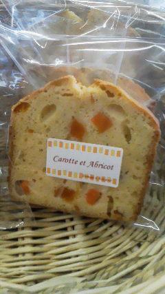 ニンジンと杏のケーキ