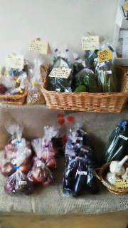 夏野菜販売してます。