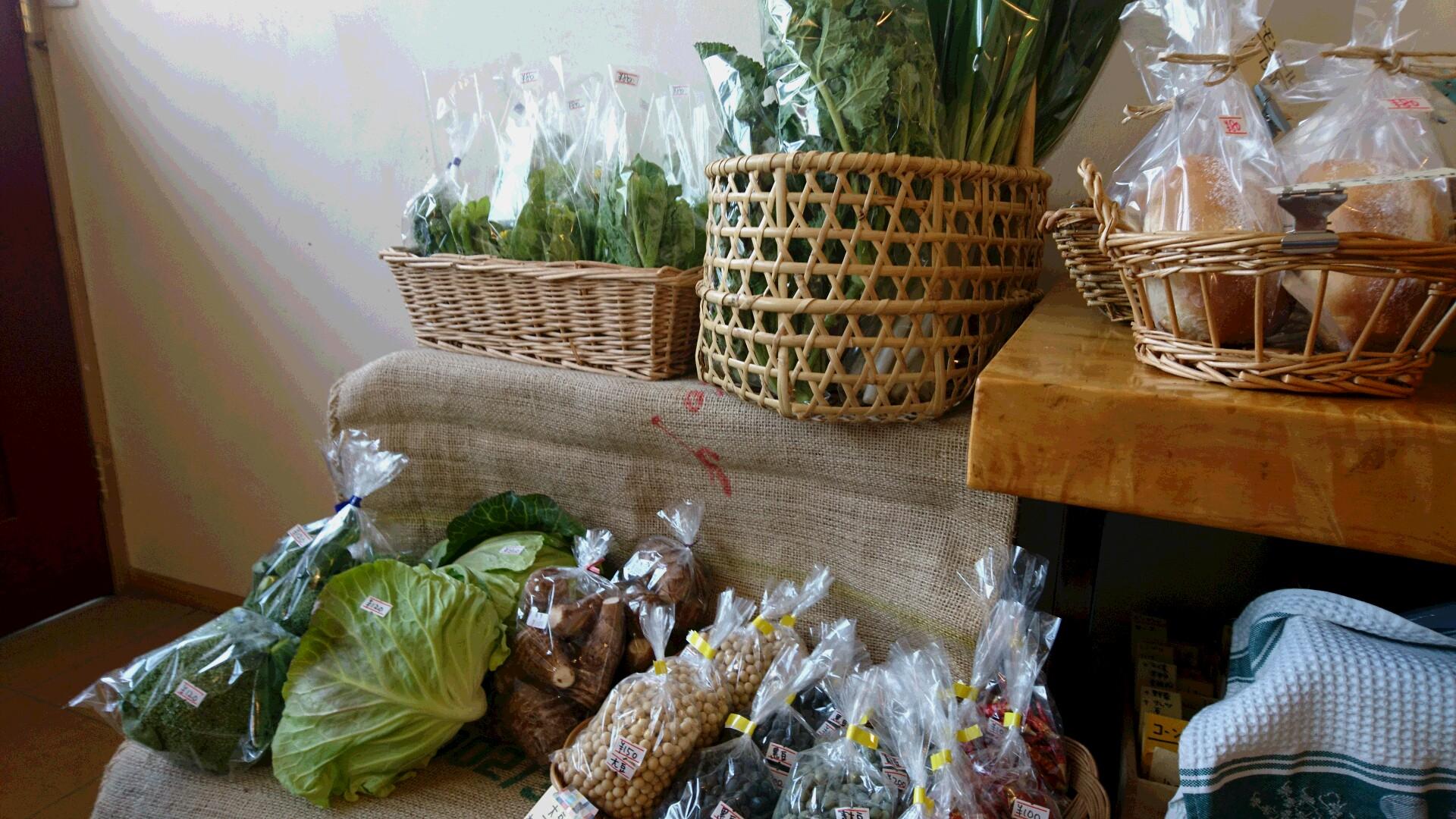 野菜がたくさん届きました。